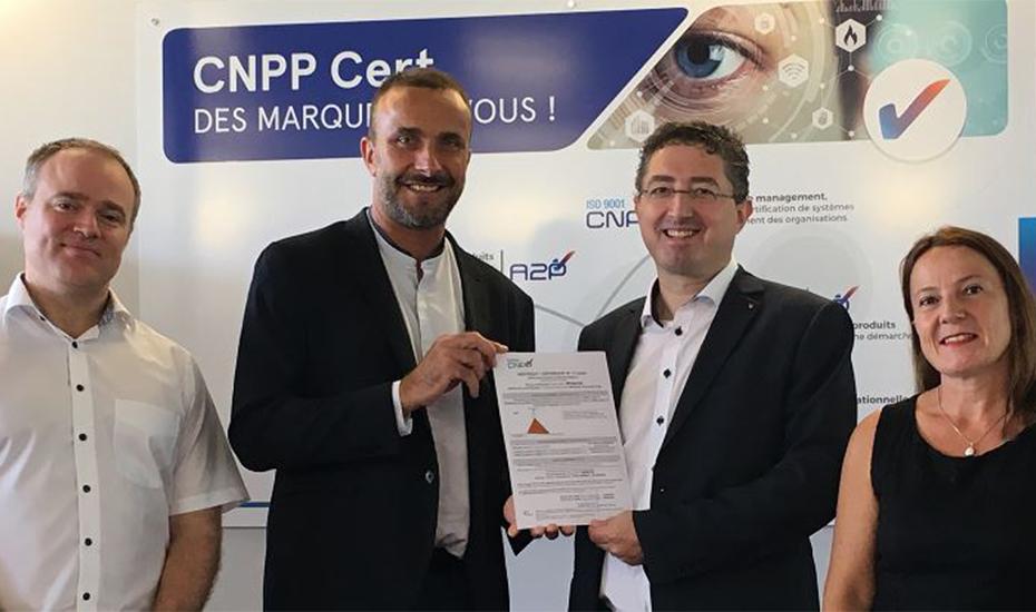 5bf6a70f MOBOTIX obtient le passeport de confiance CNPP intégrant la dimension  Cyber, pour l'ensemble