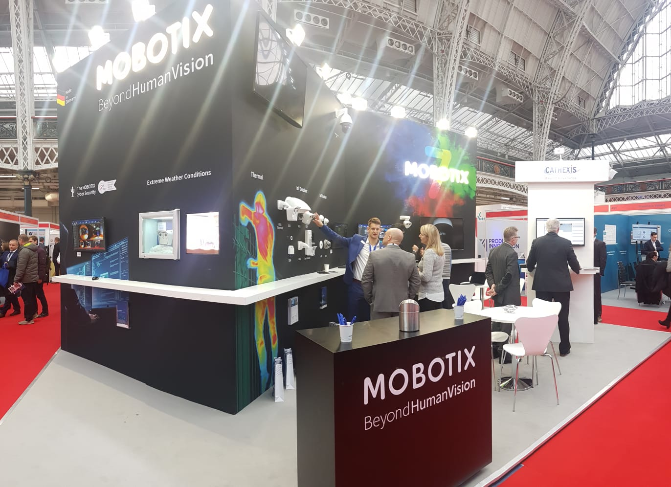 MOBOTIX and International Security Expo, London Olympia