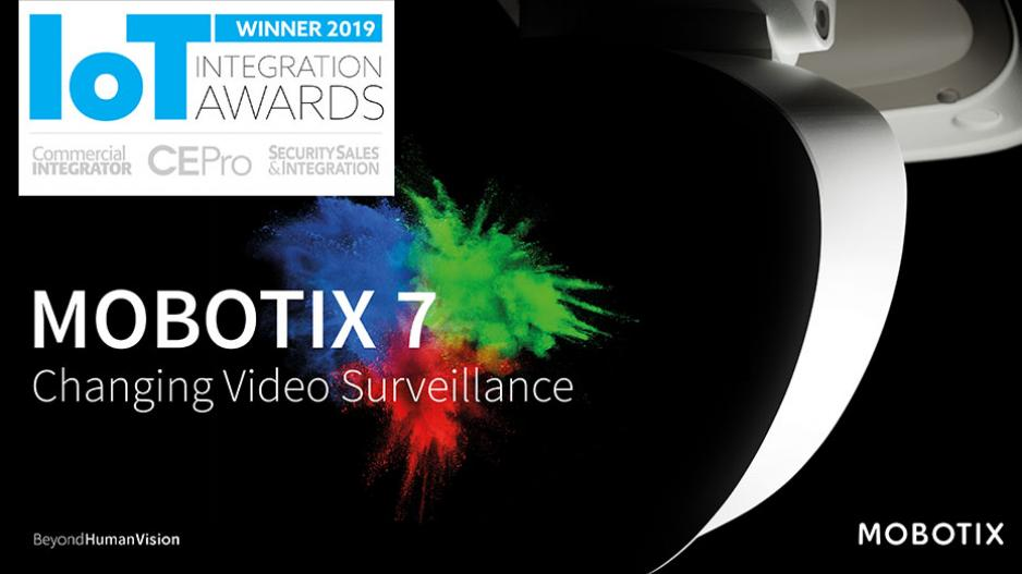 MOBOTIX M73 wins IoT Integration Award