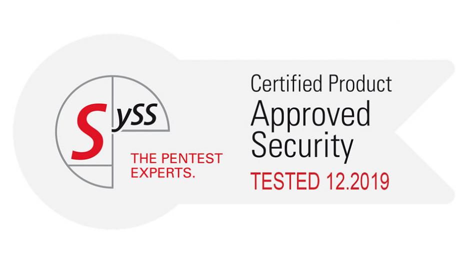 CyberSecurity SySS Certificate