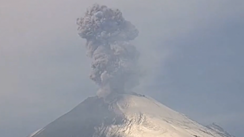 MOBOTIX watches eruption of Popocatépetl